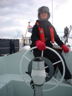 Debs on the helm